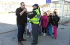 Izvedba akcije 'Otroci za  varnost v prometu'