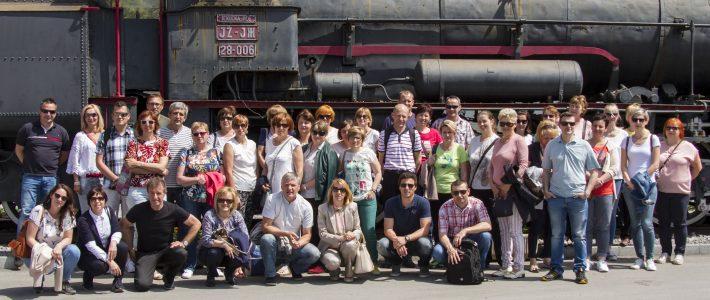 Obisk kolektiva OŠ Podčetrtek – priložnost za izmenjavo izkušenj