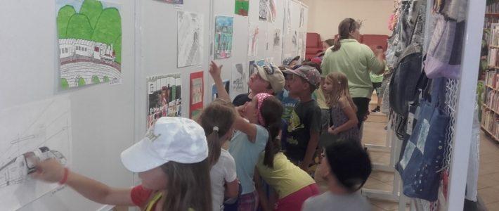 Prvošolci v krajevni knjižnici