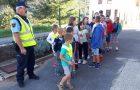 Učenci podružnične šole Vreme in njihova varnost v prometu