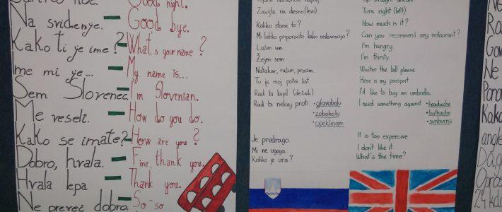 Evropski dan jezikov na naši šoli