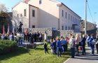 Komemorativna svečanost v Senožečah