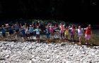 Učilnica v gozdu in na obrežju reke Reke