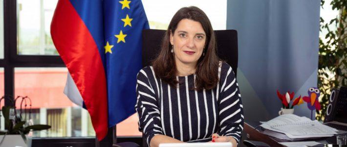 Poslanica ministrice dr. Simone Kustec